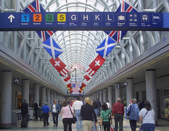 chicago-airport-2 - 美国航空芝加哥机场转机全攻略