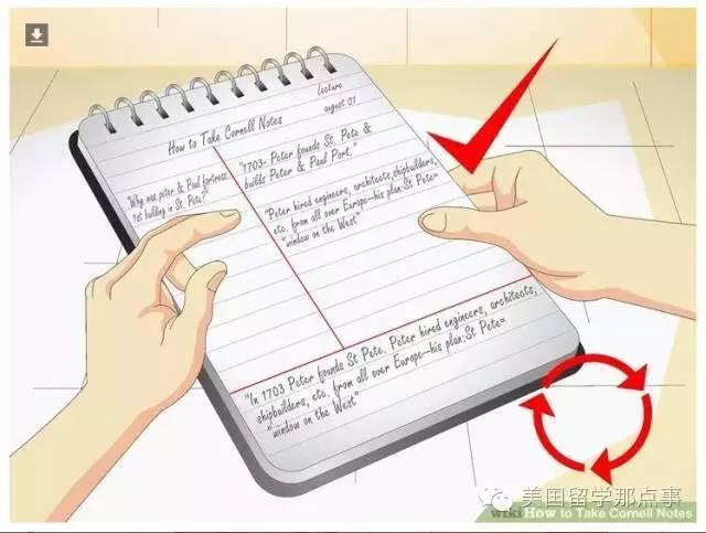 一种高效率的笔记法——康奈尔笔记法