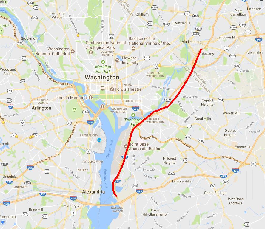 DC295——华盛顿神奇的罚单路插图(2)