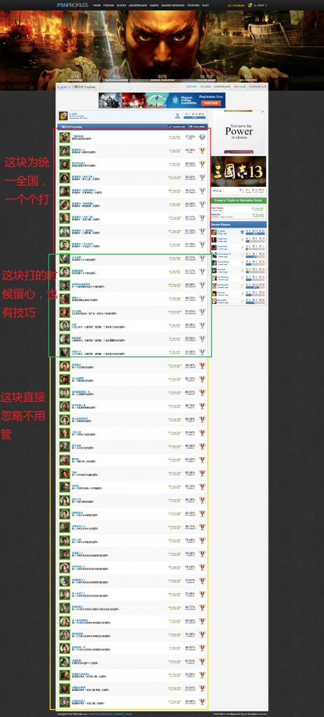 PS4 三国志13 白金攻略 - PS4 三国志13 白金攻略