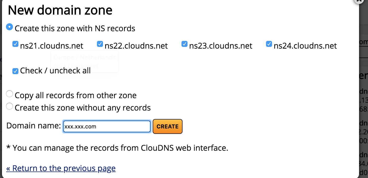 Synology设置DDNS实现使用自己的域名访问私有云 – CloudNS方案插图